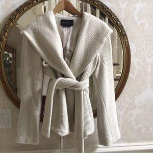 BCBG Wrap Coat